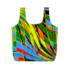 Jungle Full Print Recycle Bags (M)
