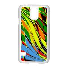 Jungle Samsung Galaxy S5 Case (White)