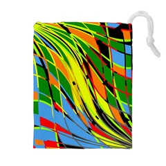 Jungle Drawstring Pouches (Extra Large)
