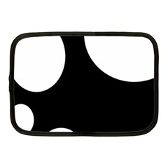 Black and white moonlight Netbook Case (Medium)