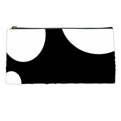 Black and white moonlight Pencil Cases