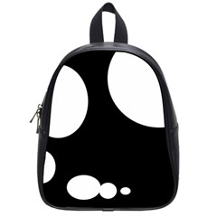 Black and white moonlight School Bags (Small)