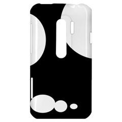 Black and white moonlight HTC Evo 3D Hardshell Case