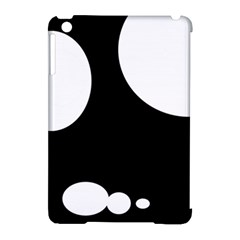 Black and white moonlight Apple iPad Mini Hardshell Case (Compatible with Smart Cover)