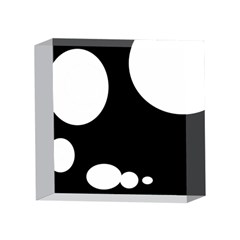 Black and white moonlight 4 x 4  Acrylic Photo Blocks