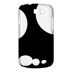 Black and white moonlight Samsung Galaxy Express I8730 Hardshell Case