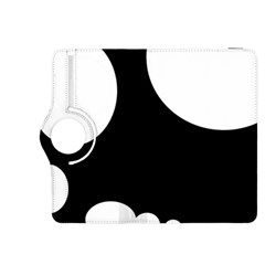 Black and white moonlight Kindle Fire HDX 8.9  Flip 360 Case