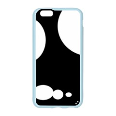 Black and white moonlight Apple Seamless iPhone 6/6S Case (Color)