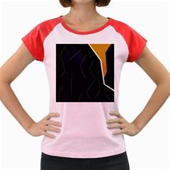 Digital abstraction Women s Cap Sleeve T-Shirt