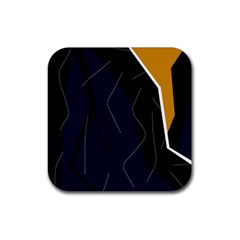 Digital abstraction Rubber Coaster (Square)