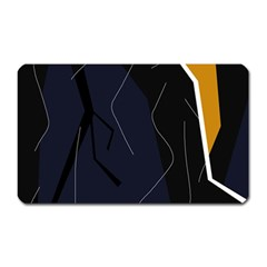 Digital abstraction Magnet (Rectangular)