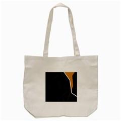 Digital abstraction Tote Bag (Cream)