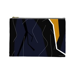 Digital abstraction Cosmetic Bag (Large)