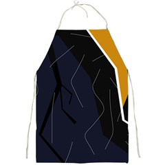 Digital abstraction Full Print Aprons