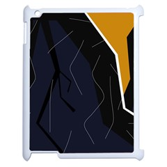 Digital abstraction Apple iPad 2 Case (White)