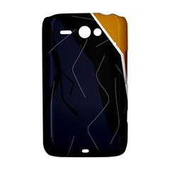 Digital abstraction HTC ChaCha / HTC Status Hardshell Case
