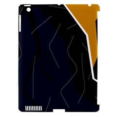 Digital abstraction Apple iPad 3/4 Hardshell Case (Compatible with Smart Cover)