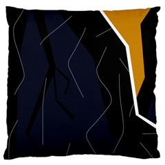 Digital abstraction Large Cushion Case (Two Sides)