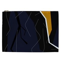 Digital abstraction Cosmetic Bag (XXL)
