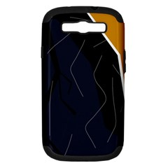 Digital abstraction Samsung Galaxy S III Hardshell Case (PC+Silicone)