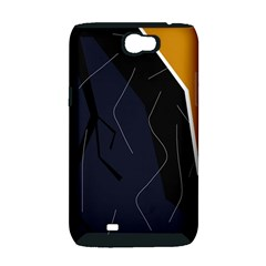 Digital abstraction Samsung Galaxy Note 2 Hardshell Case (PC+Silicone)