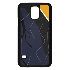 Digital abstraction Samsung Galaxy S5 Case (Black)