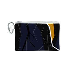 Digital abstraction Canvas Cosmetic Bag (S)