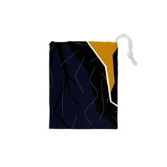 Digital abstraction Drawstring Pouches (XS)