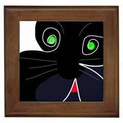 Big cat Framed Tiles
