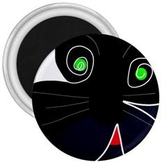 Big cat 3  Magnets