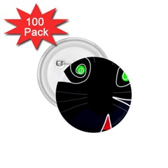 Big cat 1.75  Buttons (100 pack)