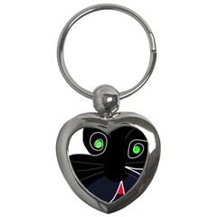 Big cat Key Chains (Heart)
