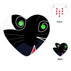 Big cat Playing Cards (Heart)