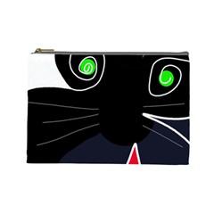 Big cat Cosmetic Bag (Large)