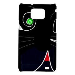 Big cat Samsung Galaxy S2 i9100 Hardshell Case