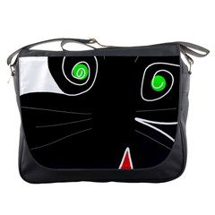 Big cat Messenger Bags