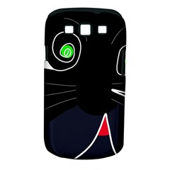 Big cat Samsung Galaxy S III Classic Hardshell Case (PC+Silicone)