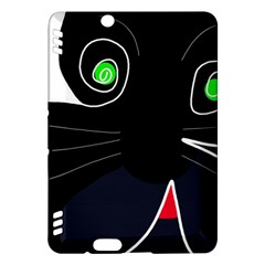 Big cat Kindle Fire HDX Hardshell Case