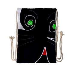 Big cat Drawstring Bag (Small)