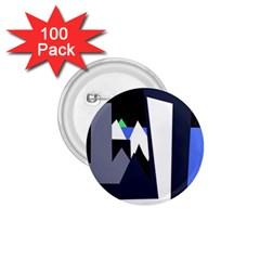 Glacier 1.75  Buttons (100 pack)