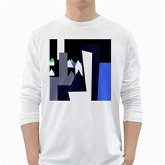 Glacier White Long Sleeve T-Shirts