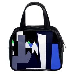 Glacier Classic Handbags (2 Sides)