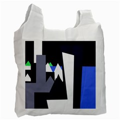 Glacier Recycle Bag (One Side)