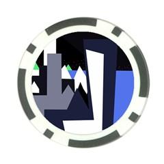Glacier Poker Chip Card Guards (10 pack)