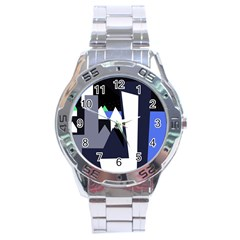 Glacier Stainless Steel Analogue Watch