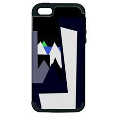 Glacier Apple iPhone 5 Hardshell Case (PC+Silicone)