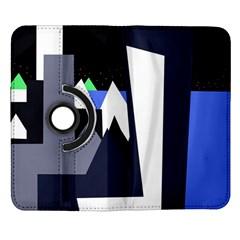 Glacier Samsung Galaxy Note II Flip 360 Case