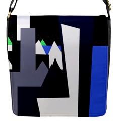 Glacier Flap Messenger Bag (S)