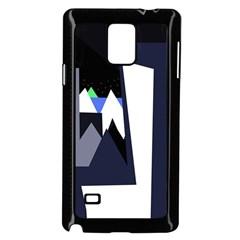 Glacier Samsung Galaxy Note 4 Case (Black)