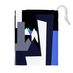 Glacier Drawstring Pouches (Extra Large)